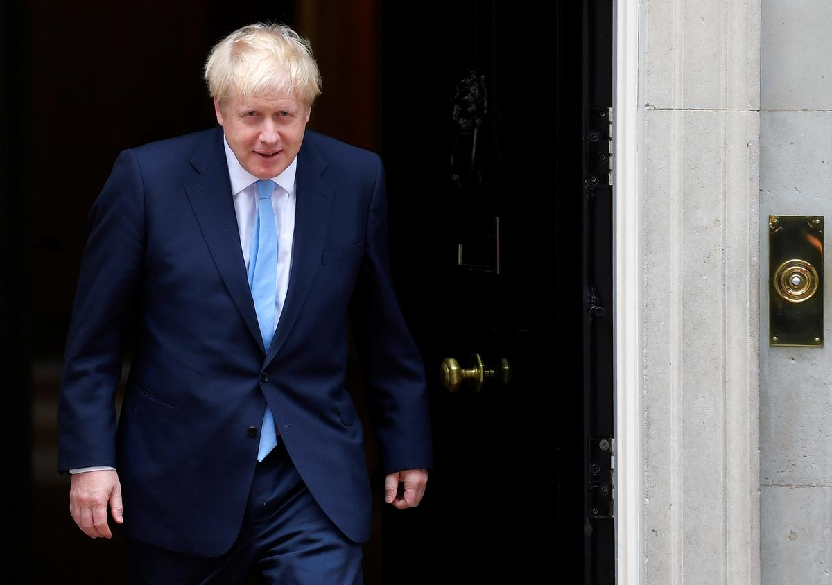 UK must leave EU on Oct. 31, PM Johnson says when asked about prospect of resigning