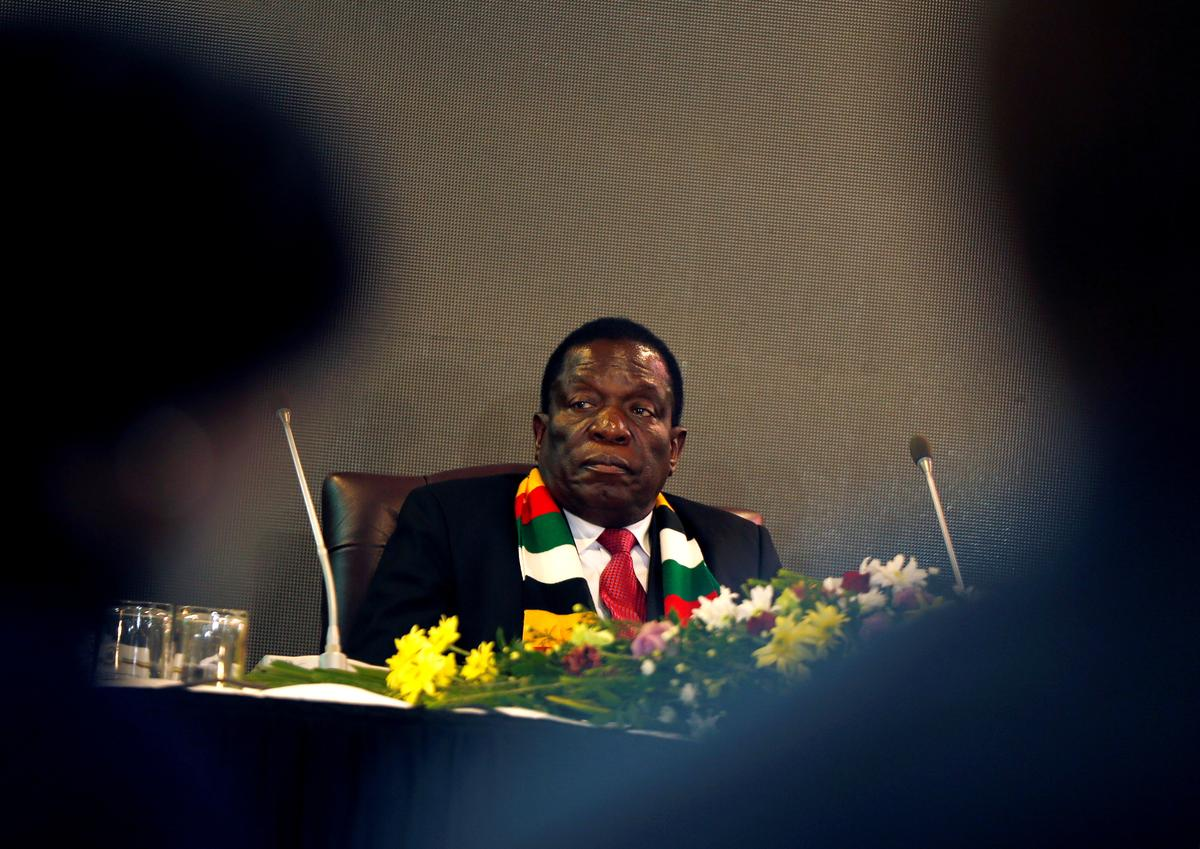 Zimbabwe's Mnangagwa fires minister for 'inappropriate behavior' after corruption charge