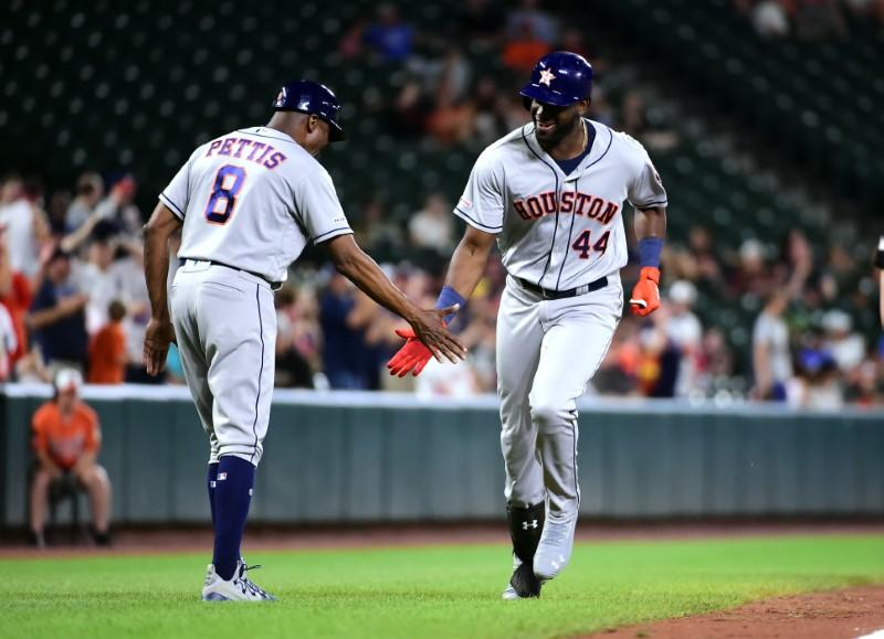 Mlb Roundup Alvarezs Seven Rbis Carry Astros To Rout Of Os Reuters