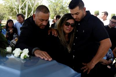Mourning after back-to-back shootings