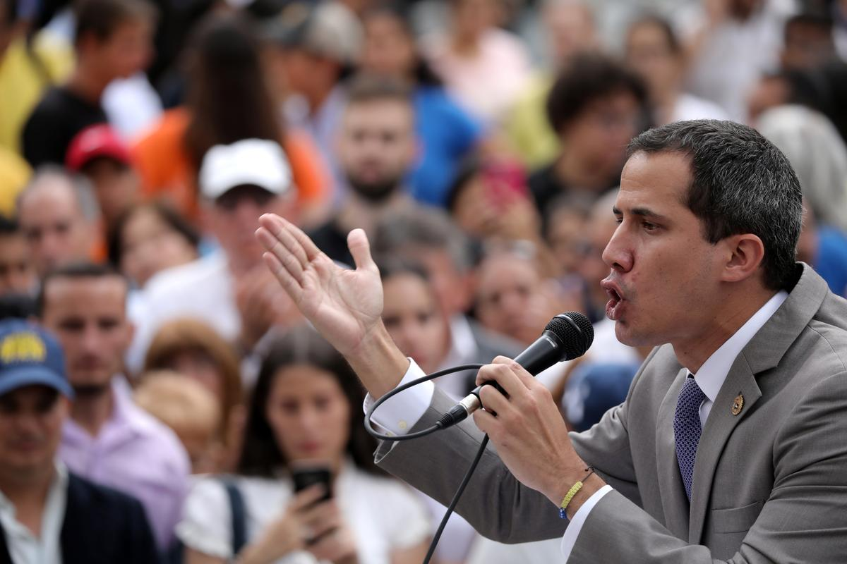 Venezuela's Guaido says government plans to dissolve opposition-run legislature