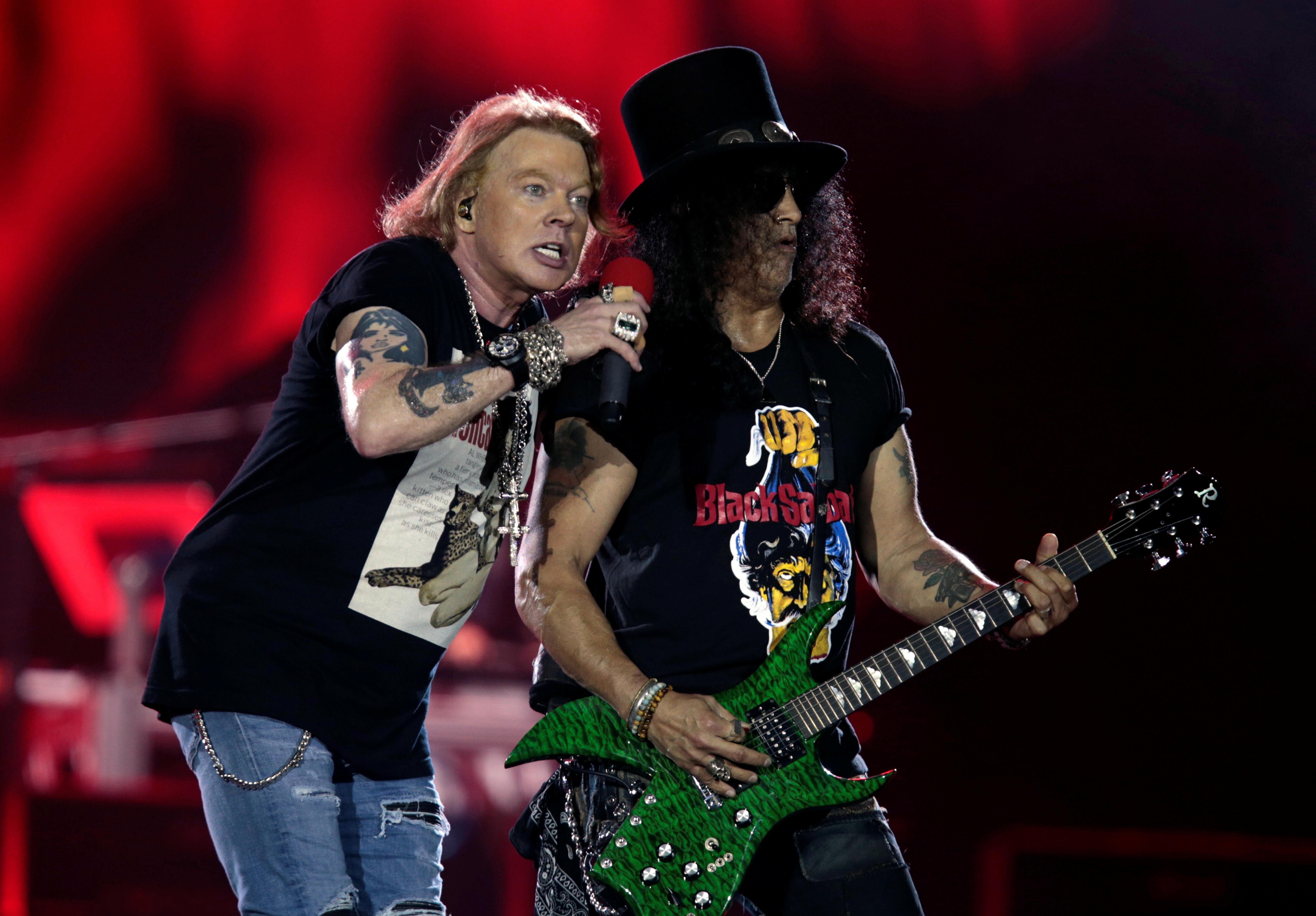 Guns N' Roses settles lawsuit over Guns 'N' Rosé beer