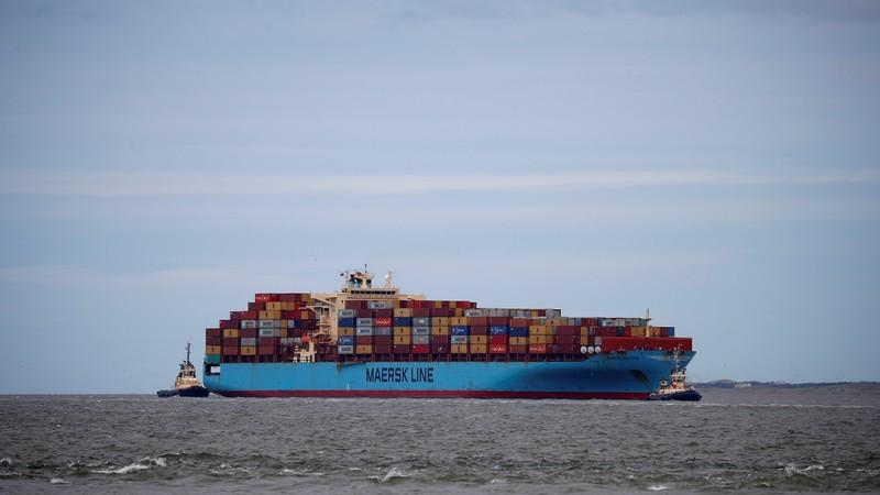 Maersk warns trade war could hurt container business