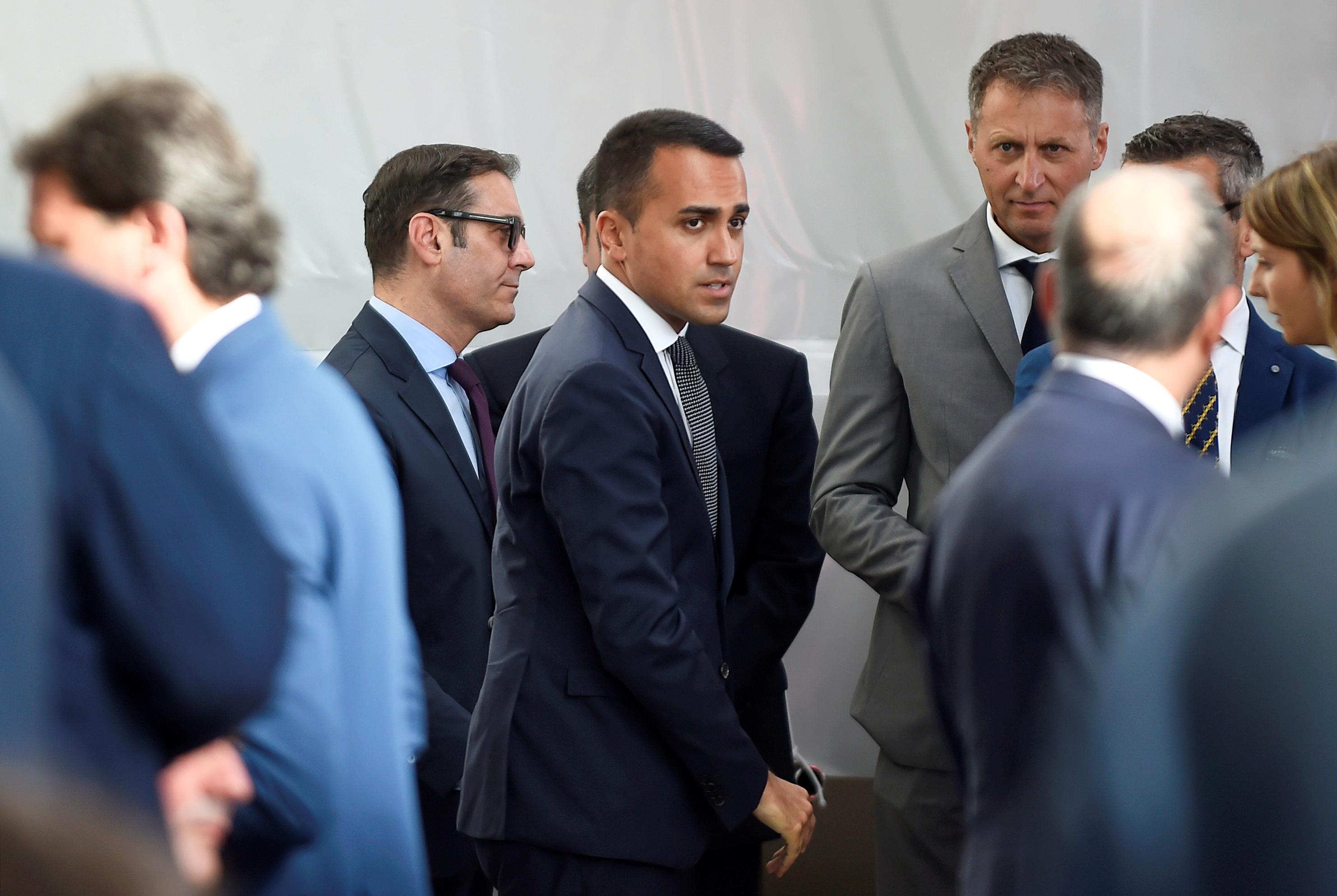 Italy's 5-Star not interested in new deal with League: Di Maio
