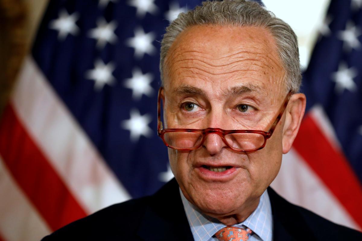 Senate Democratic leader urges Israel to reverse ban on lawmakers'...