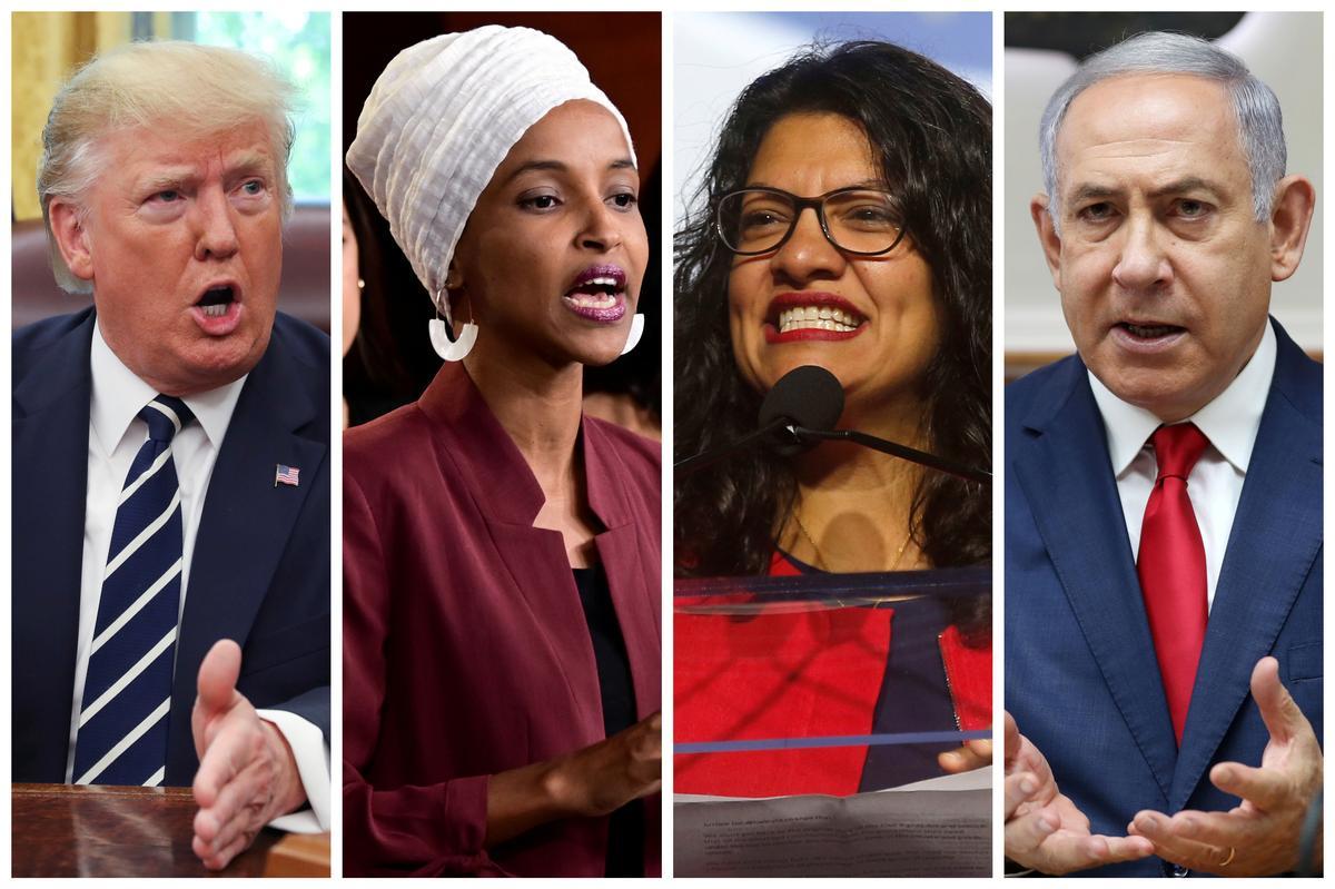 'Israel bars U.S. Democratic lawmakers Ilhan Omar and Rashida Tlaib...' /
