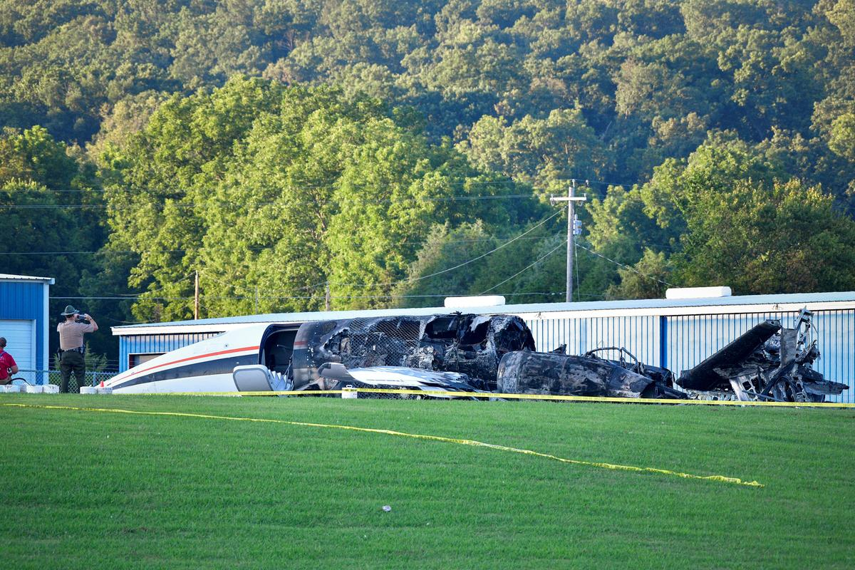 U.S. safety agencies investigate plane crash involving racecar driver Dale Earnhardt Jr