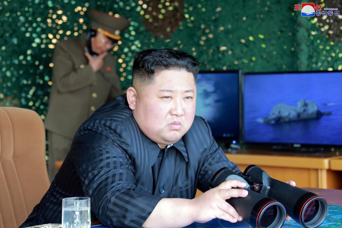 North Korea fires projectiles, rejects South Korea's dialogue pledge