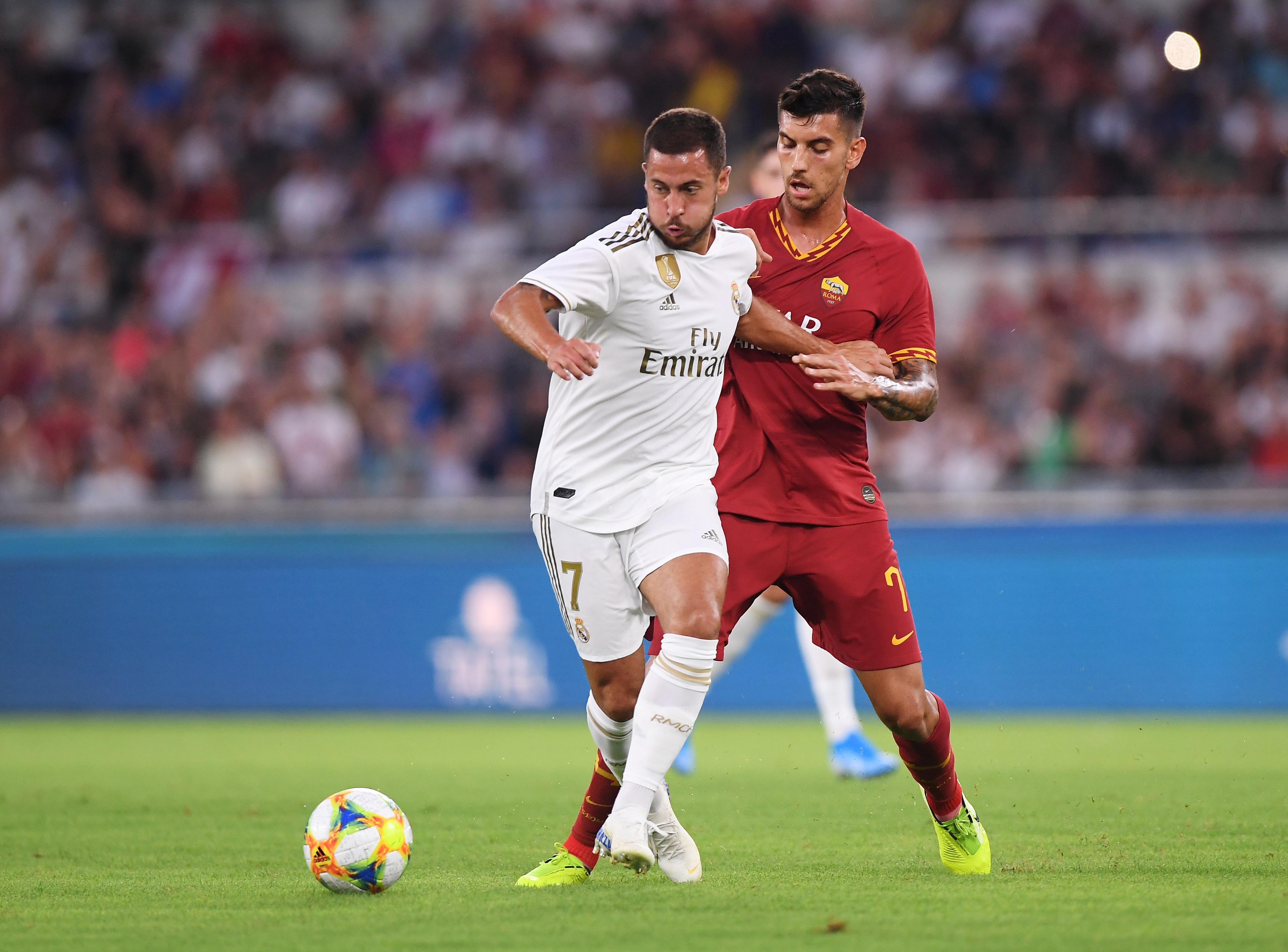Hazard out of Madrid season opener with thigh injury