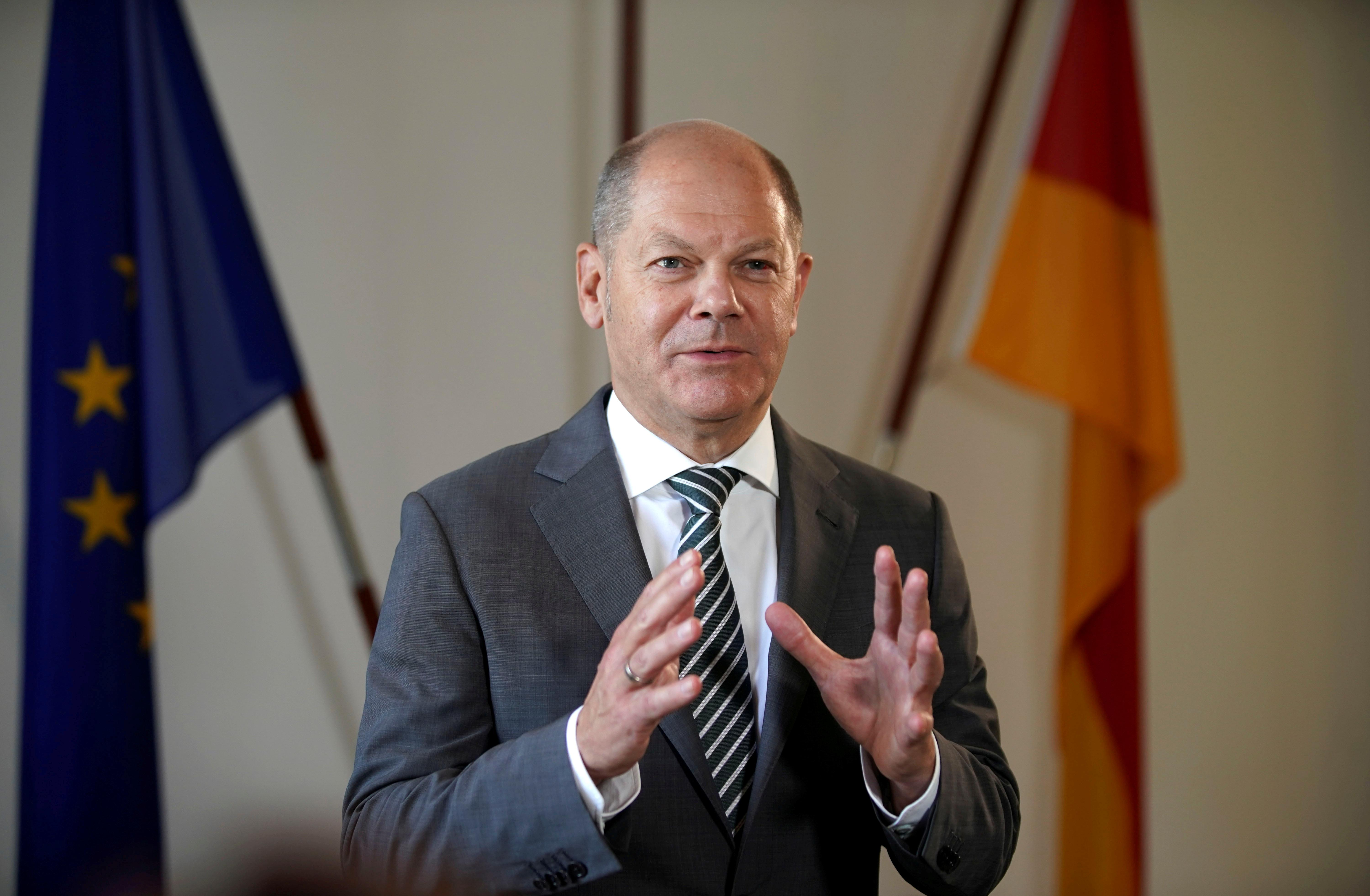 EU27 ready for all Brexit scenarios, German finance minister Scholz says