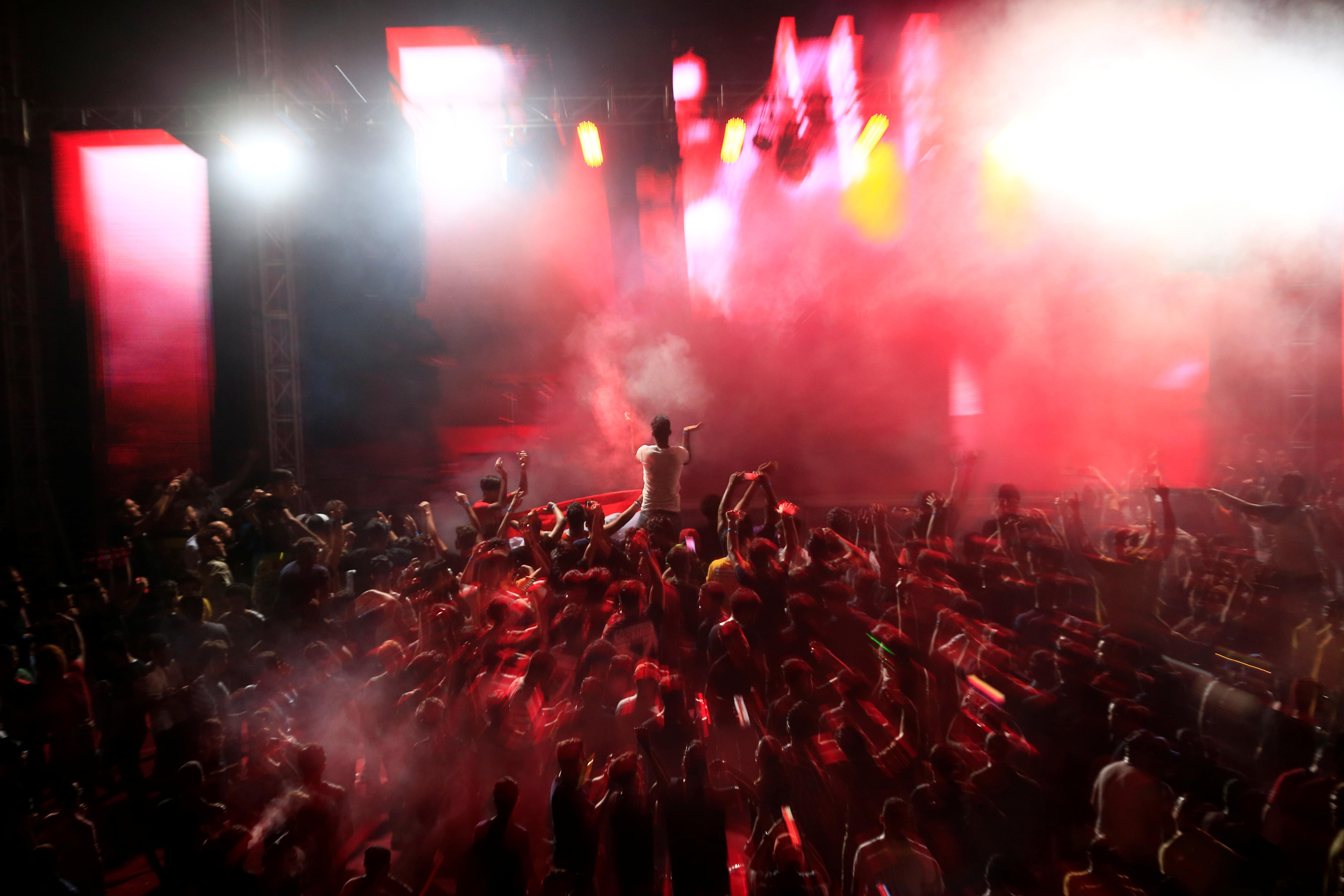 'People who love life and music' - dance parties return to Baghdad