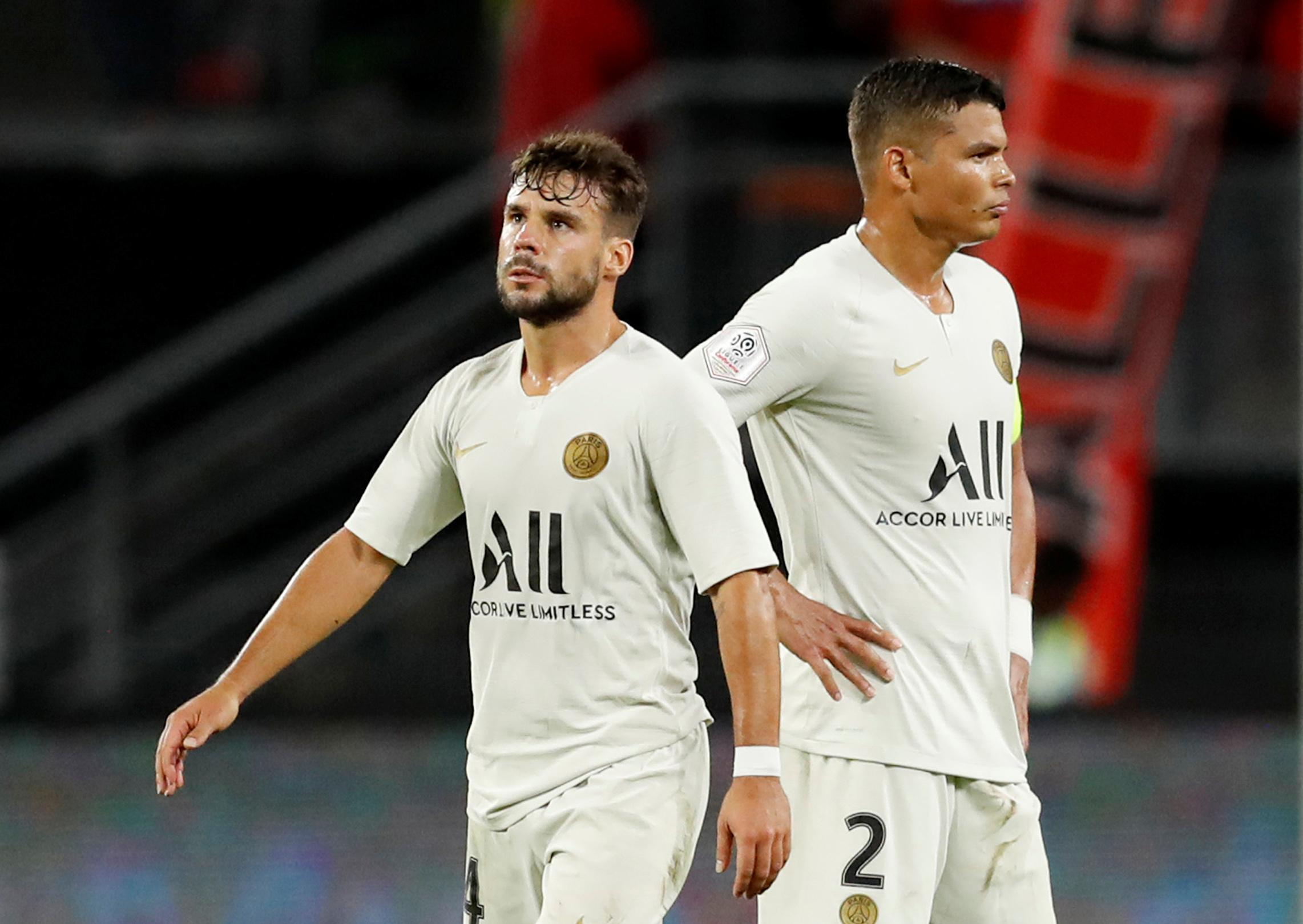 PSG leave out Neymar again on way to shock Rennes defeat
