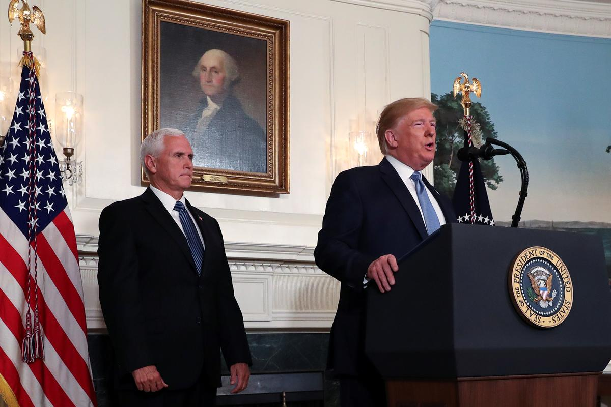 Trump affirms that Mike Pence will be 2020 running mate