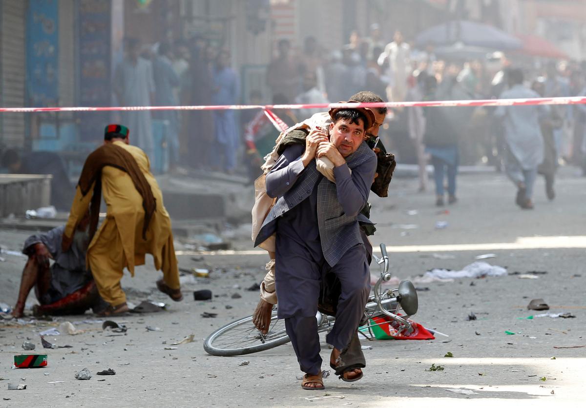 Afganistan ontploffing dekades op Onafhanklikheidsdag