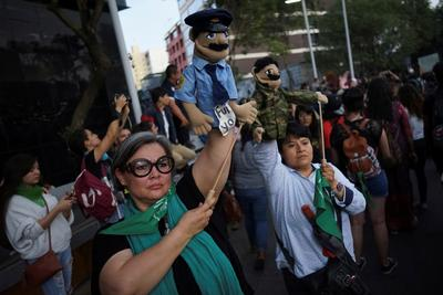 Protests erupt after reports police raped teenagers in Mexico
