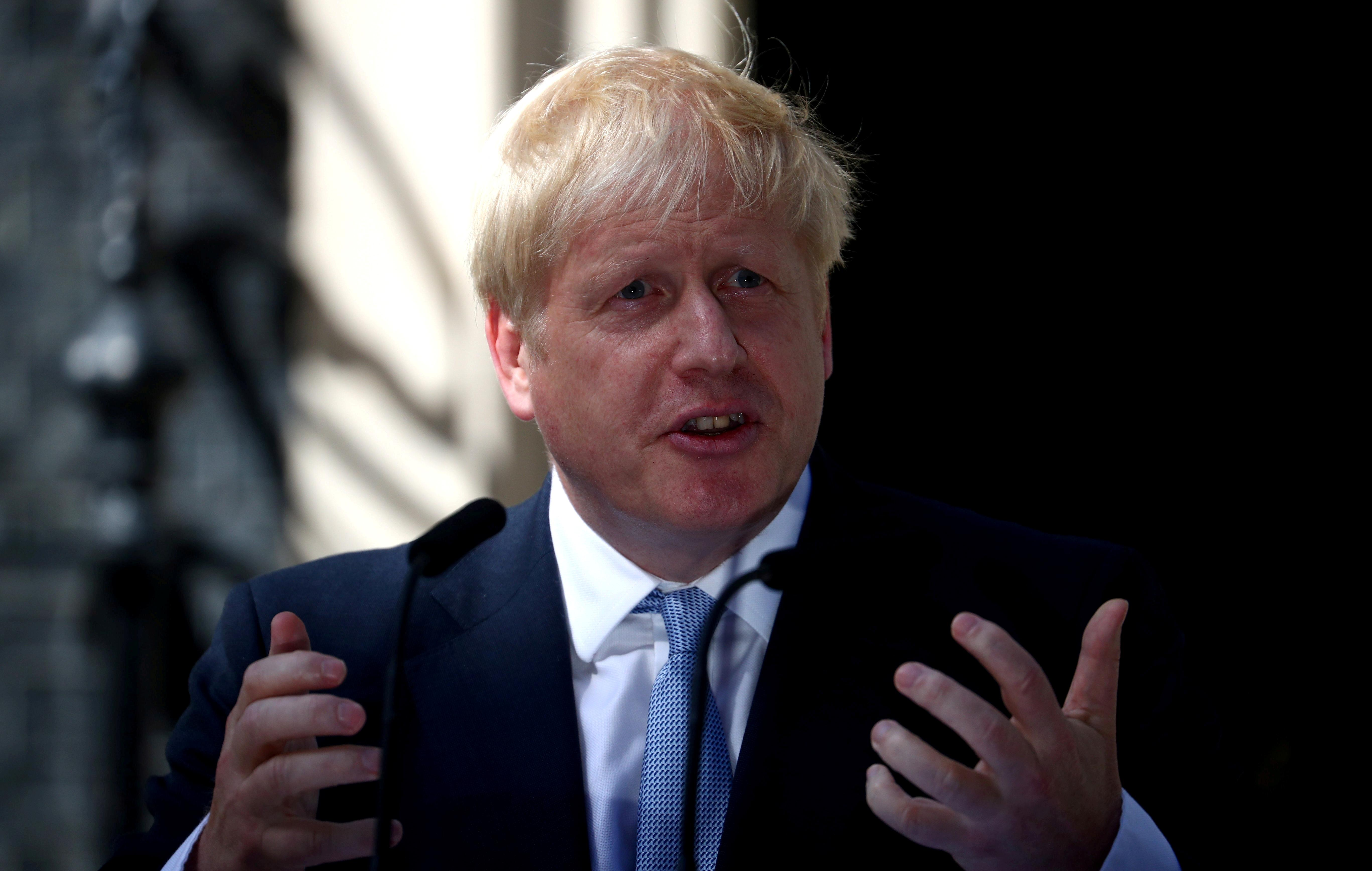 UK's Johnson to EU: Let's replace backstop with commitment to alternative arrangements