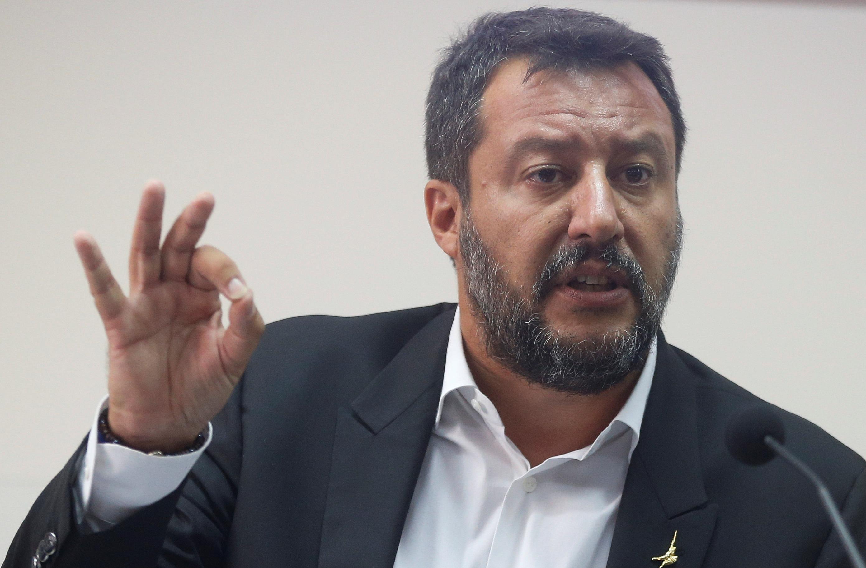 Italy needs 50 billion euro budget for 'shock' stimulus: Salvini