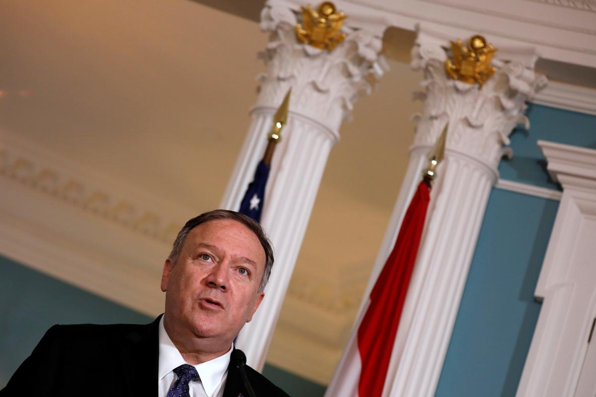U.S. Secretary of State Pompeo says ISIS strong in some areas: CBS