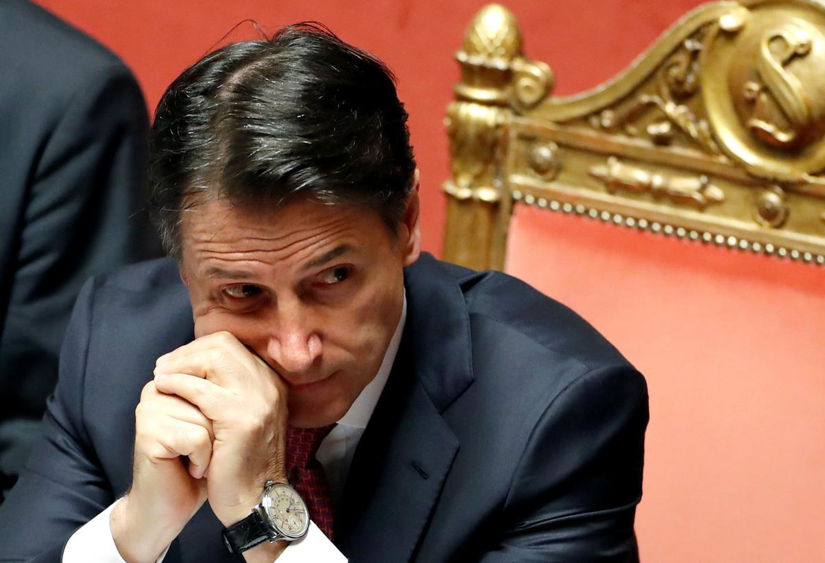 Volgens die Italiaanse premier Conte, sal hy Dinsdag bedank