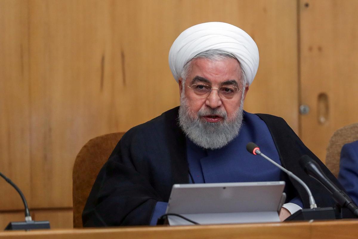Iran se president: internasionale waterweë sal nie so veilig wees as olie-uitvoer van Iran tot nul verminder nie