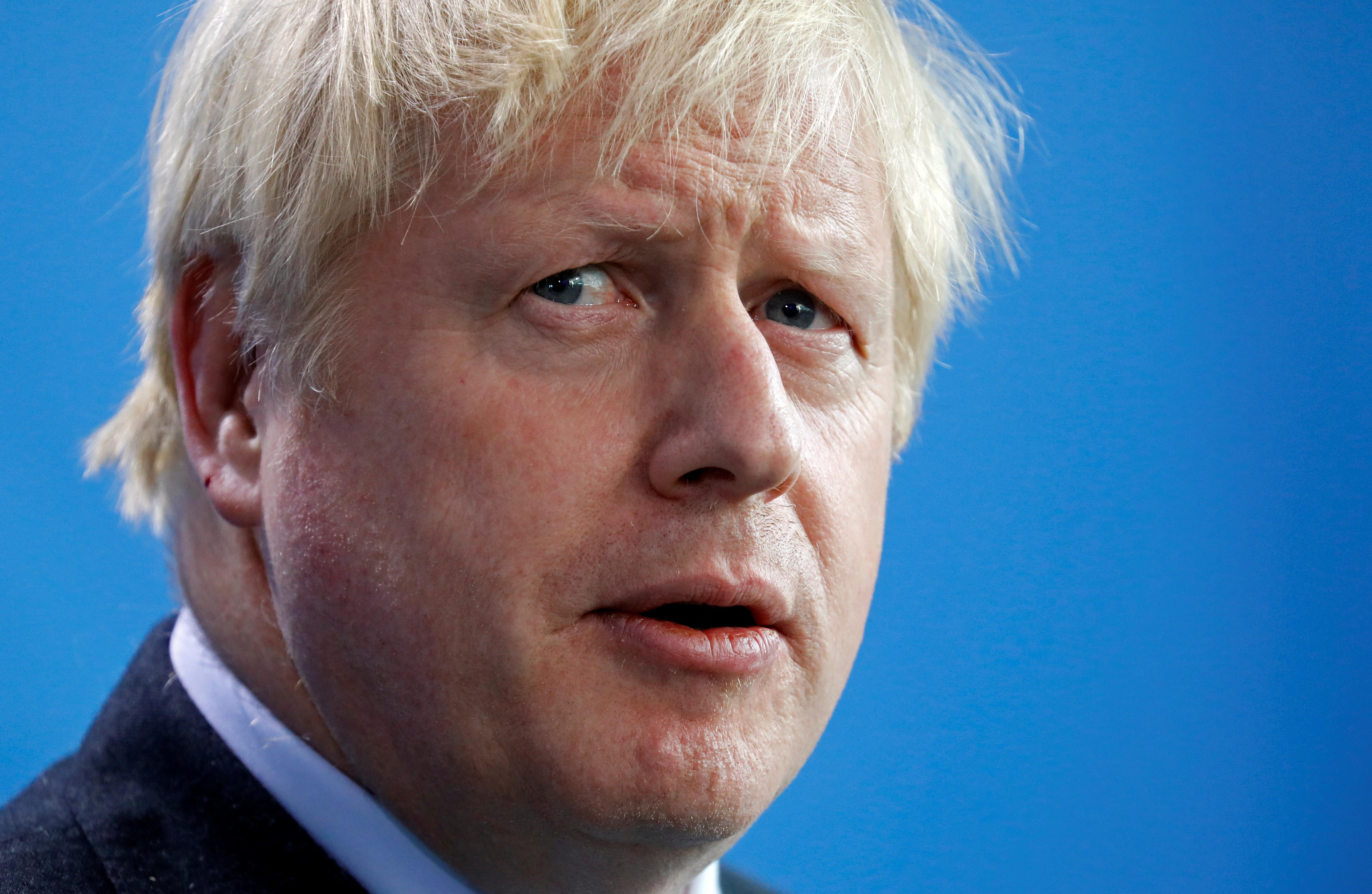 UK's Johnson sees ample scope for Brexit deal if backstop goes