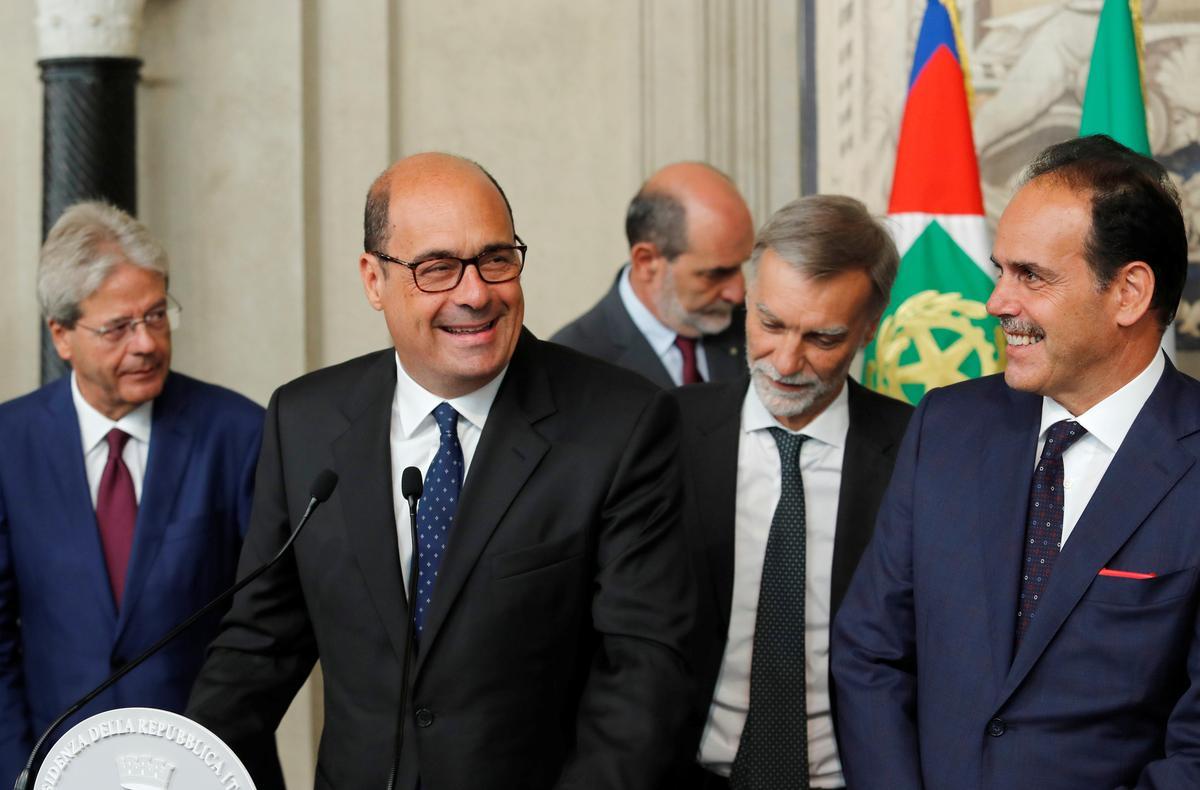 Italië se PD-leier sê die party sal probeer om die regering te vorm ná gesprekke met die president