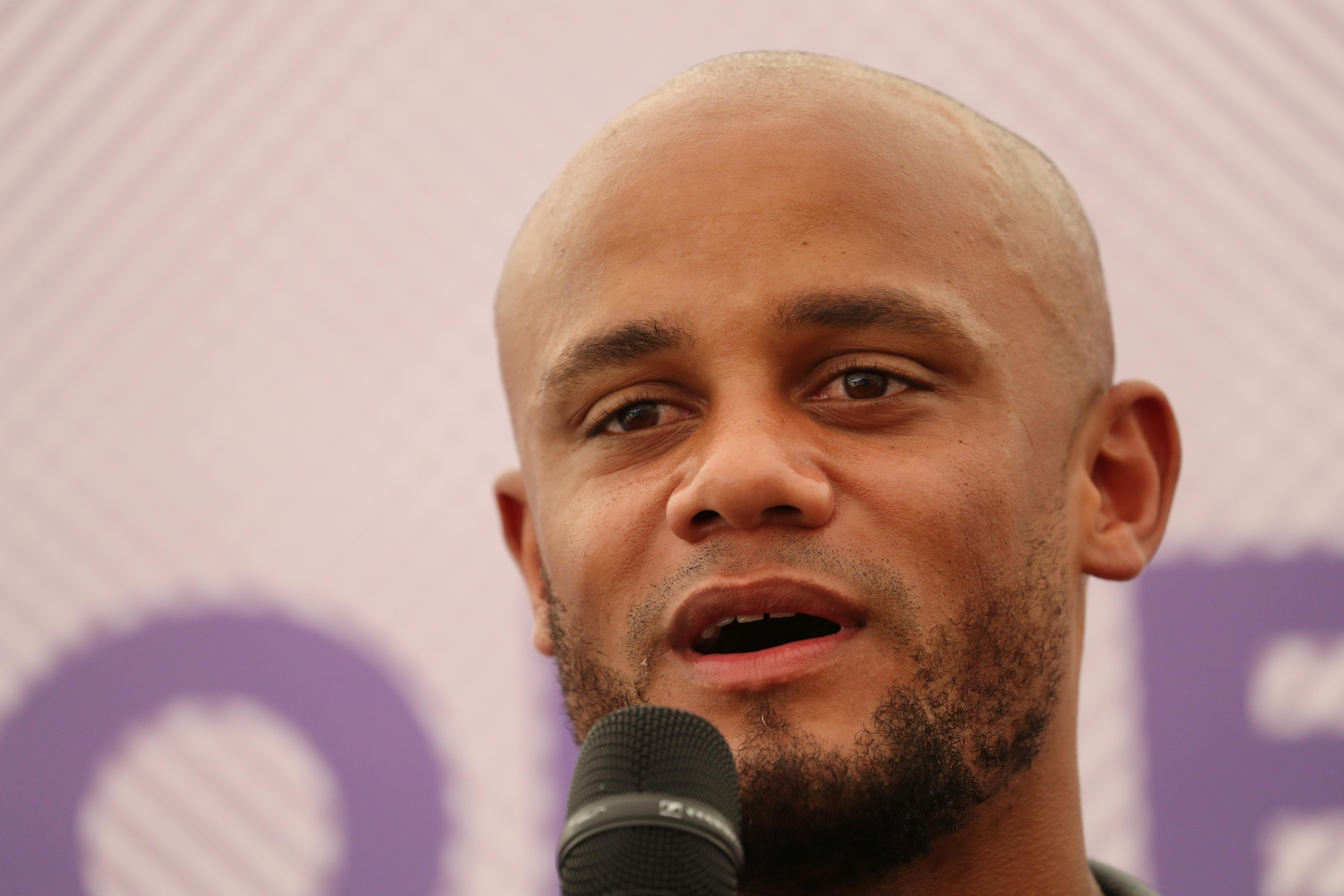 Anderlecht coach Kompany takes on new match-day role