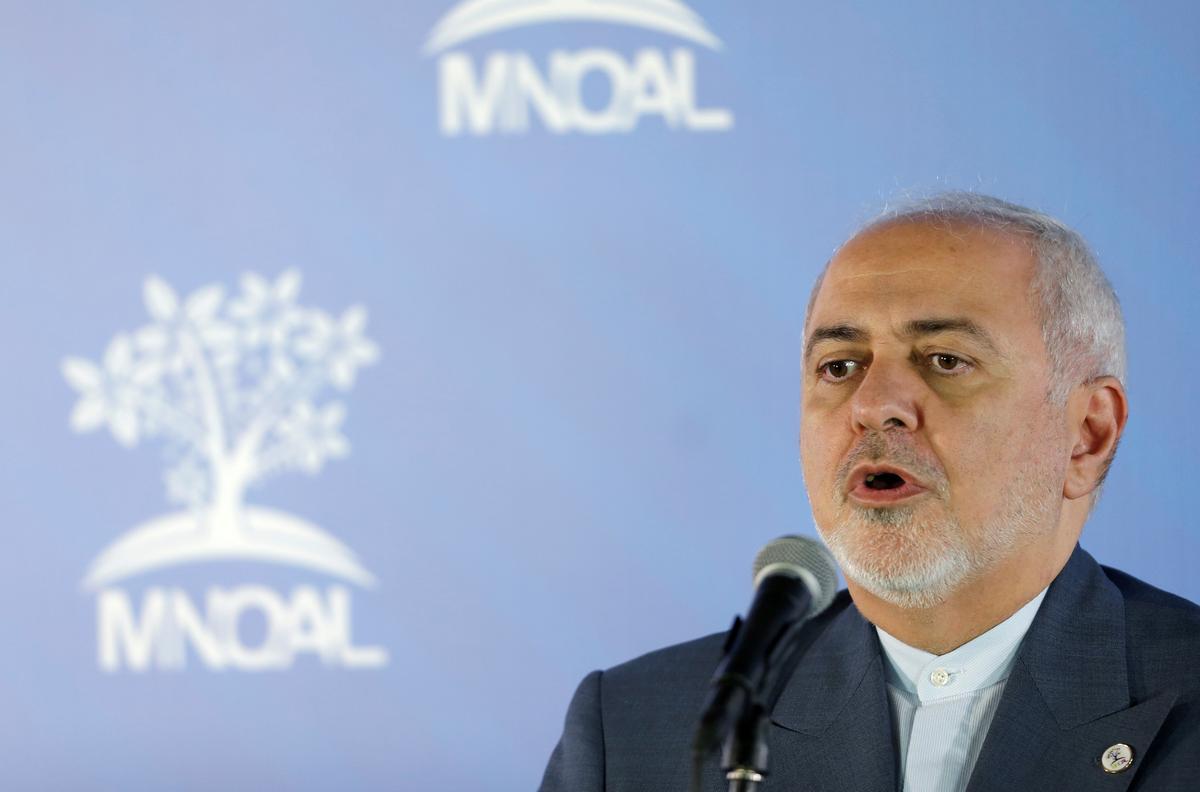 Iran se Zarif sê kerngesprekke met Macron was 'produktief': die ILNA-agentskap