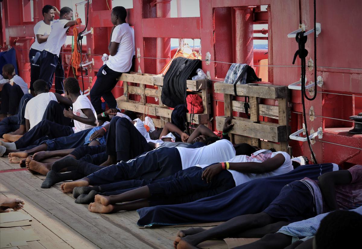 EU-lande stem in om Ocean Viking-migrante uit te deel