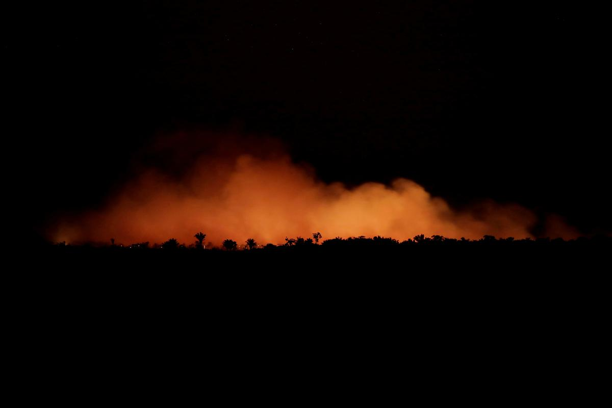 Amerikaanse 'diep besorg' oor Brasiliaanse wilde brande: amptelik