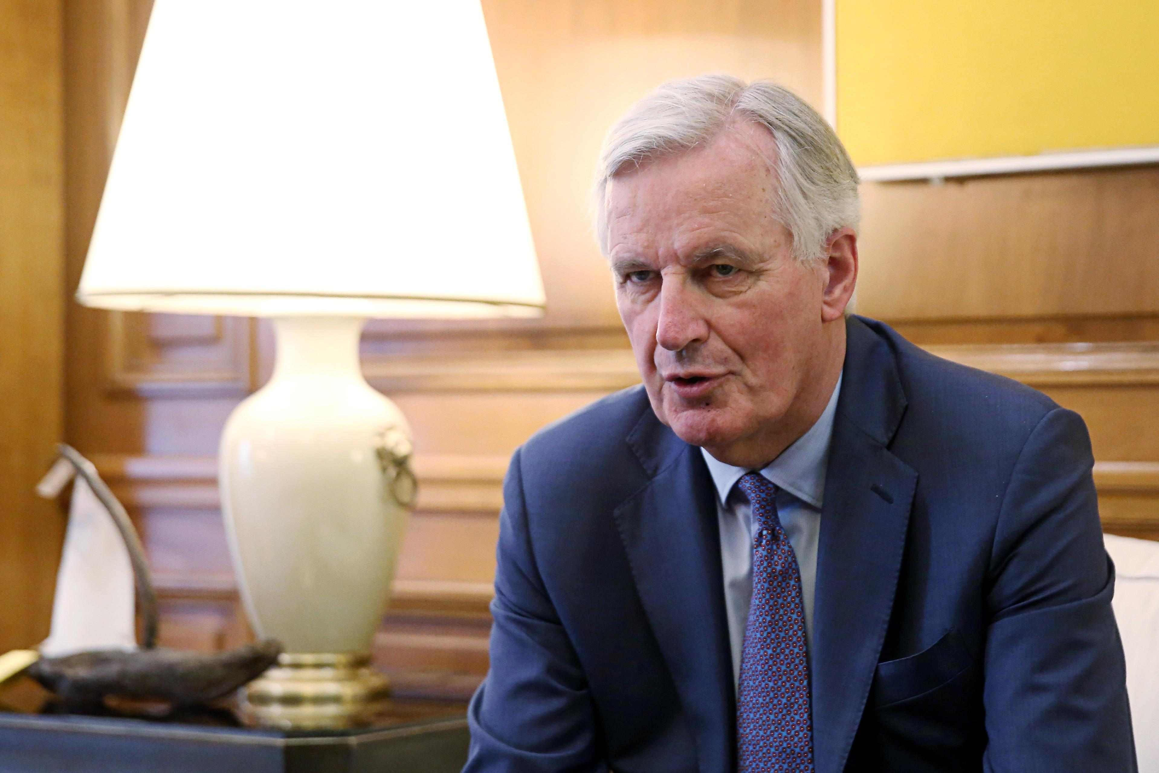 Barnier: EU waiting for 'realistic, operational & compatible' proposals from UK