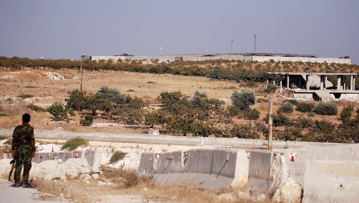 Gesin het in die Siriese stad gebly tydens aanstoot toe rebelle verdwyn het