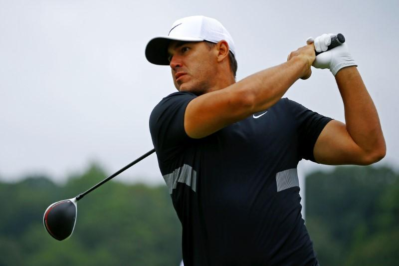 Koepka leads by one after 54 holes in race for $15 million