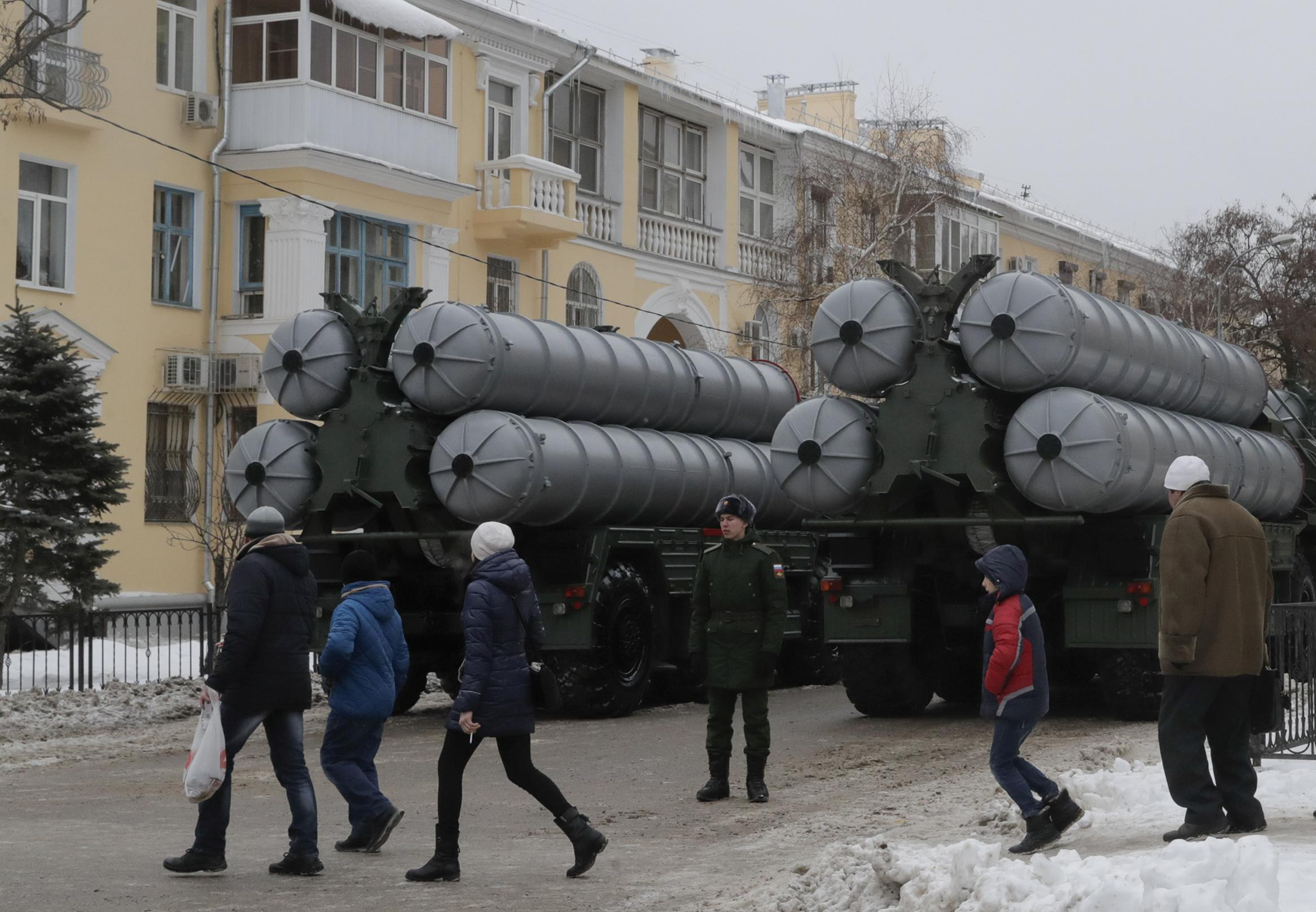 Another Russian S-400 battery headed to Turkey beginning Tuesday:...