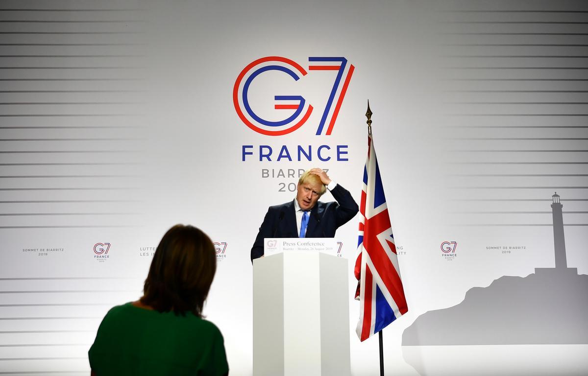 Iran het die geleentheid om weer met kernooreenkoms om te gaan: die Britse Johnson