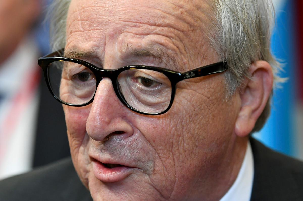 EU se Juncker, Britse premier, sal Dinsdag 'n oproep hou