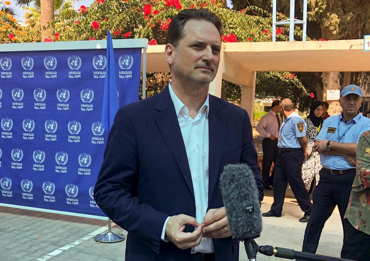 Die VN se Palestynse vlugtelingagentskap soek donasies as geldstrokies