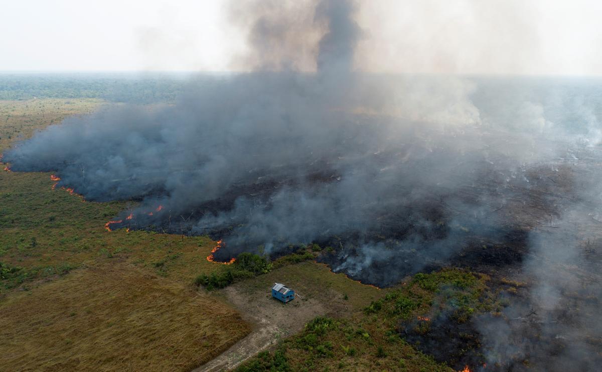 Brasilië verwelkom hulp om bosbrande te beveg, sal besluit hoe om dit te gebruik