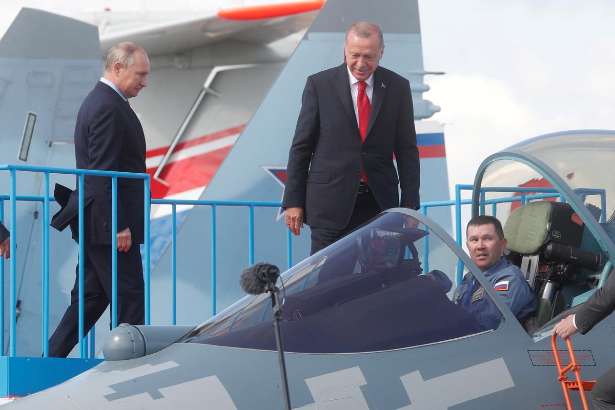 Rusland, Turkye bespreek die aanbod van Russiese oorlogsvliegtuie: RIA
