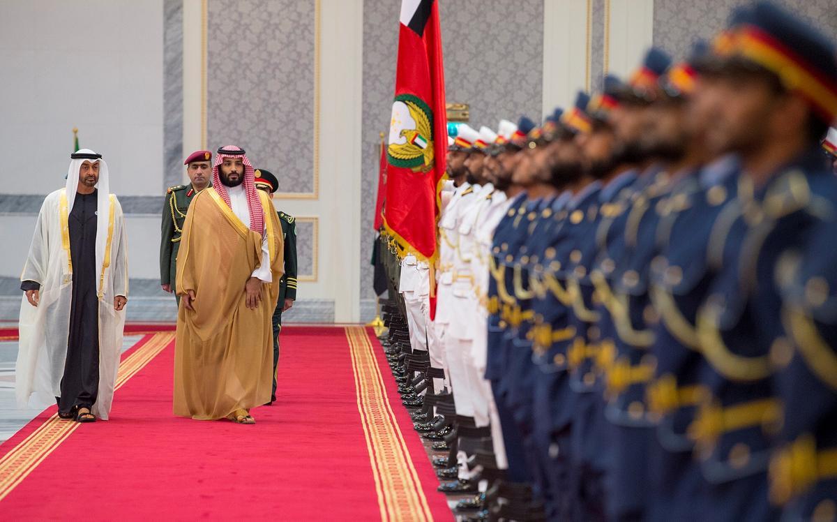 UAE maak Saoedi-alliansie los om die vredesbeeld te bevorder