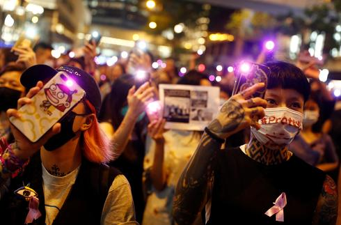 Hong Kongers protest suspected sexual violence by police