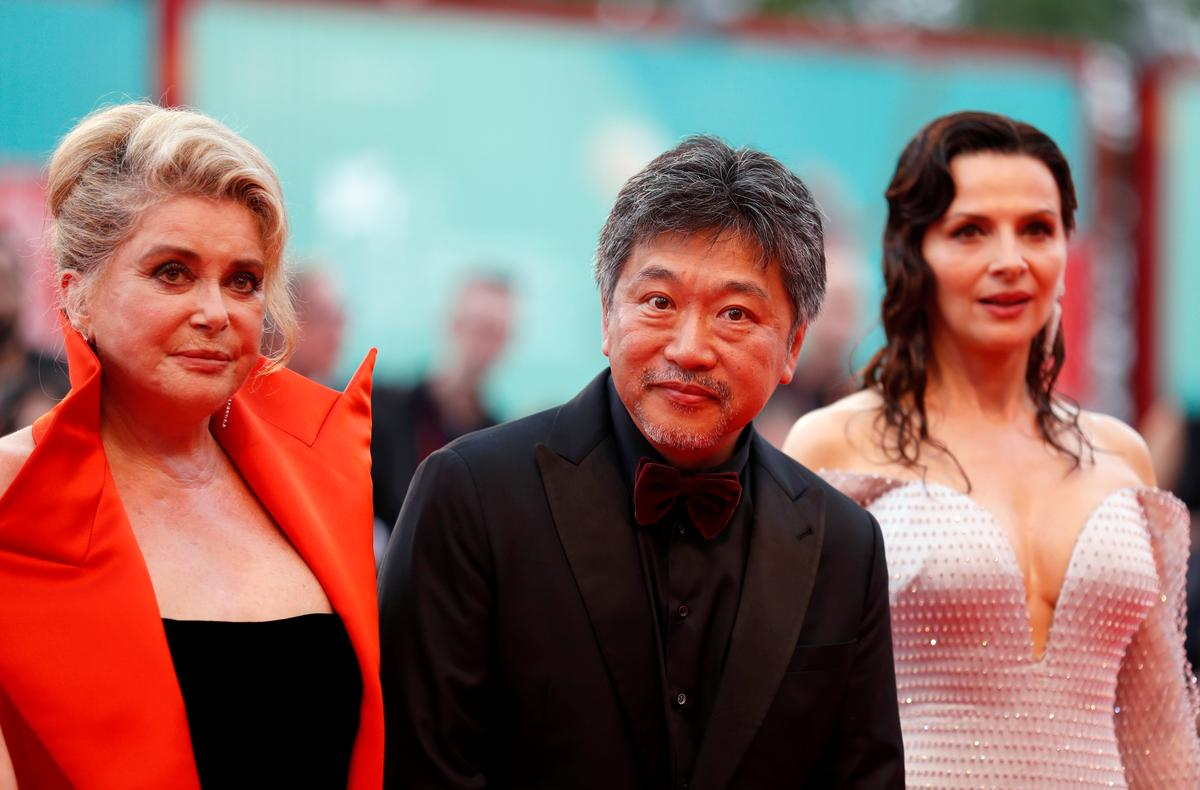 Deneuve, Binoche face off in Kore-eda's family drama 'The Truth'