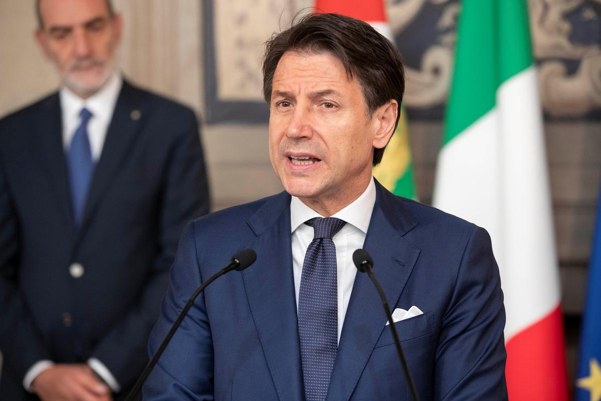 Italy's president gives Conte green light to form new
