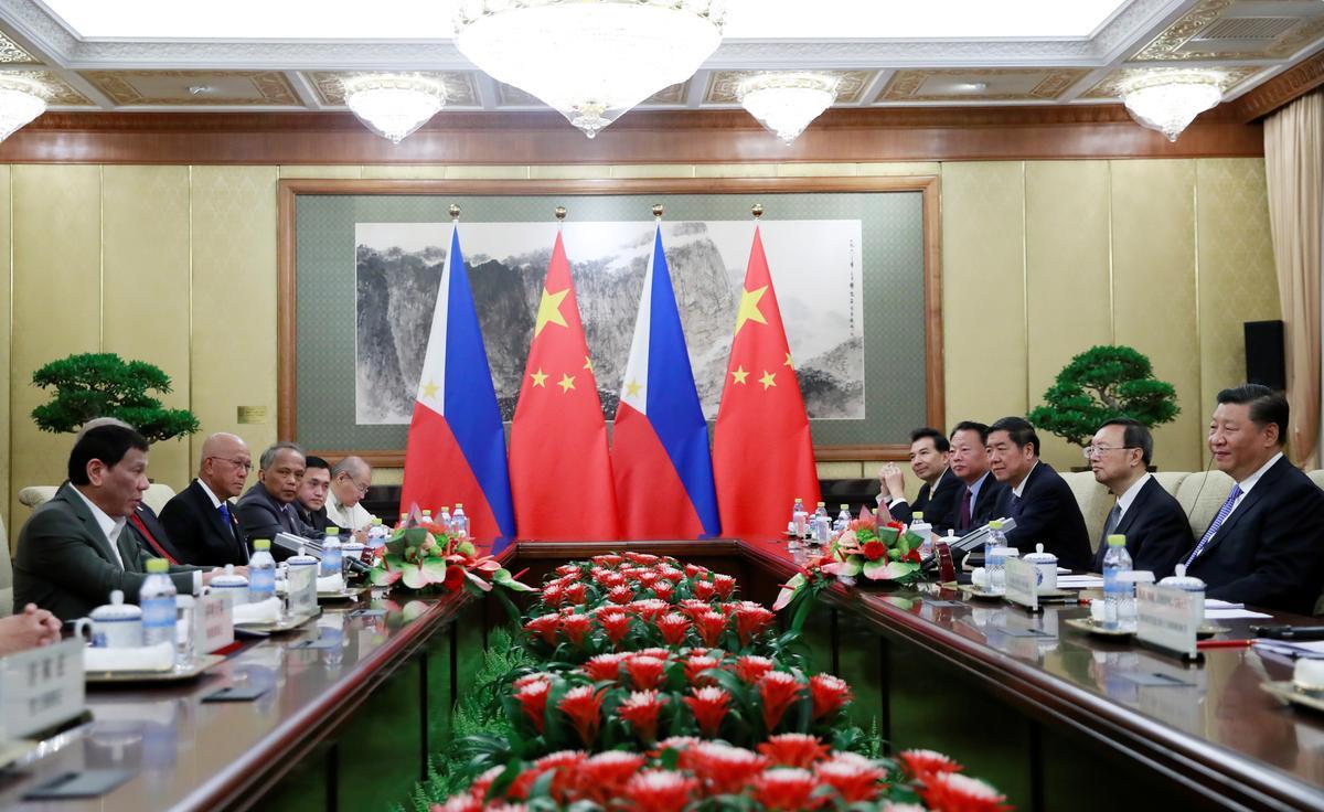 China se Xi sien 'n groter rol vir gesamentlike energie-eksplorasie met Filippyne