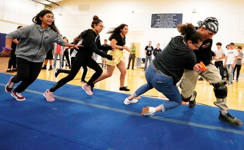 Kids train for active shooter scenarios at school