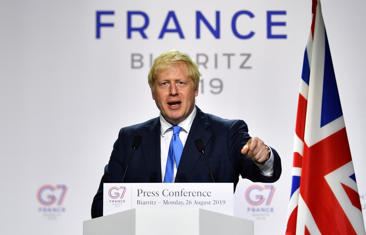 Britse Johnson: 'beweging onder die keel' in Brexit-gesprekke - verslaggewer van ITV