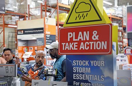 Factbox: U.S. stocks to watch as Hurricane Dorian threatens Florida