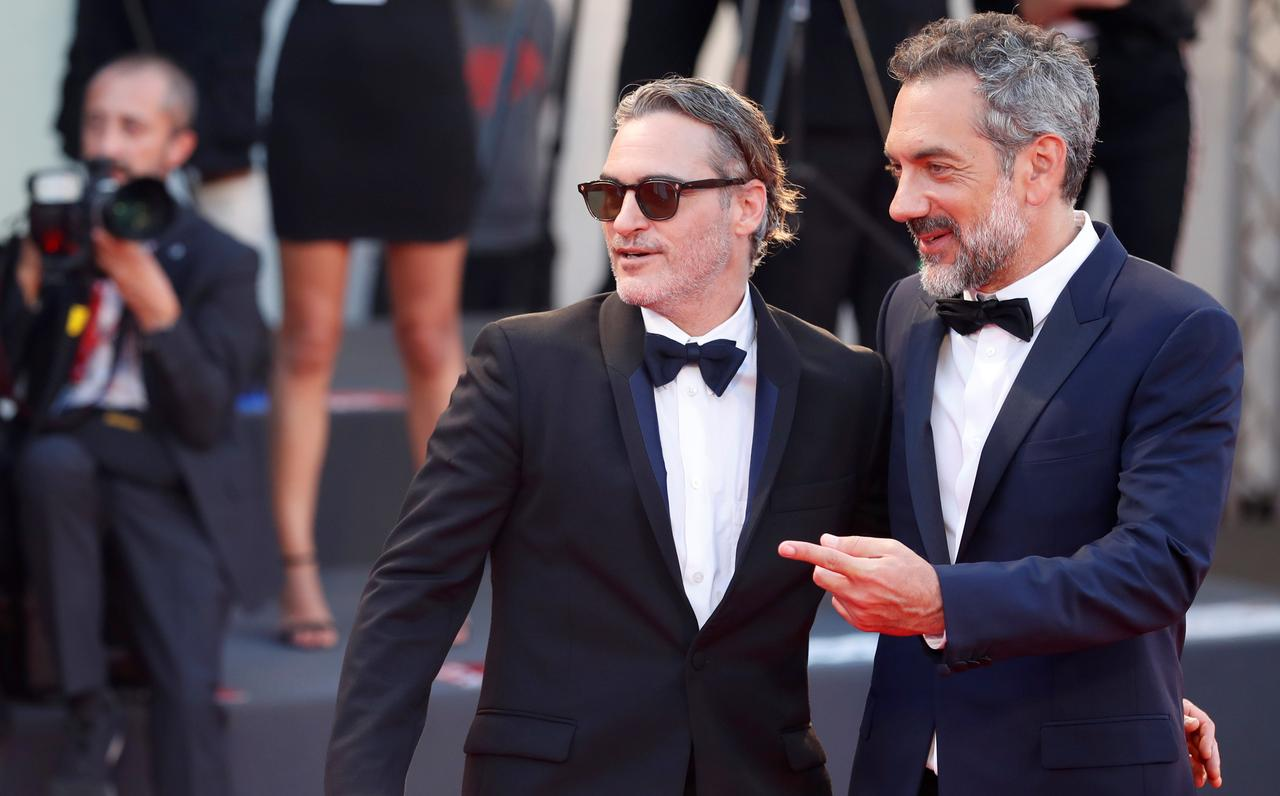 Image result for venice film festival red carpet joaquin phoenix