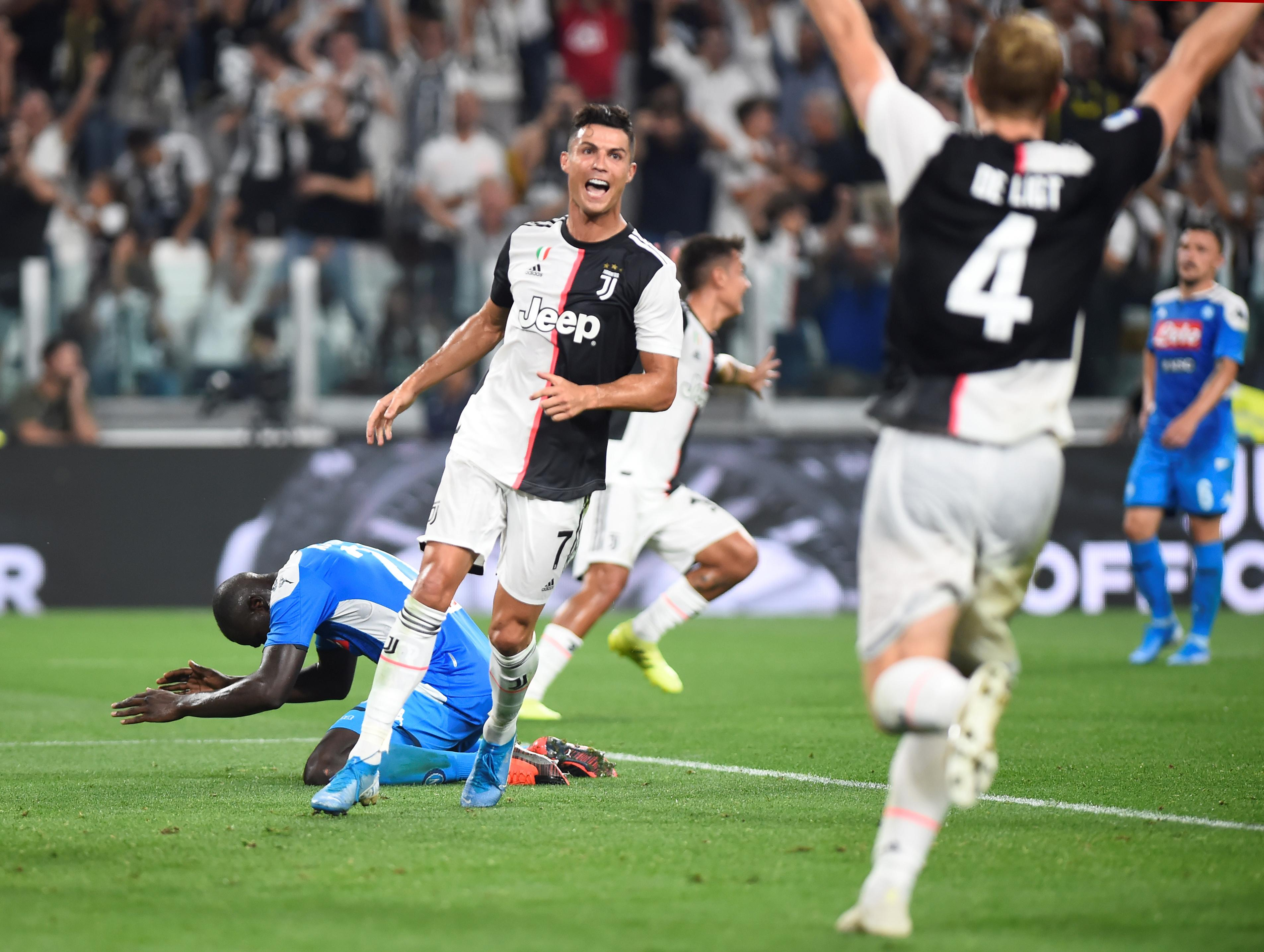 Koulibaly own goal hands Juventus dramatic win to ruin Napoli comeback