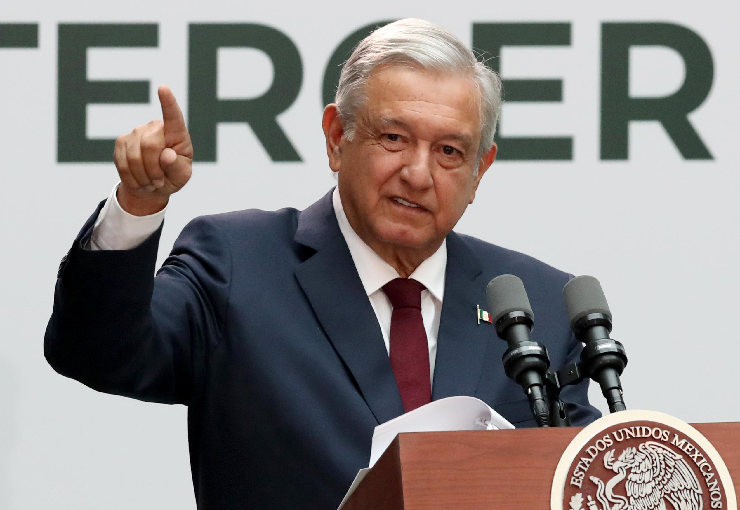 Nearly a year in, Mexico's president doubles down on management of economy